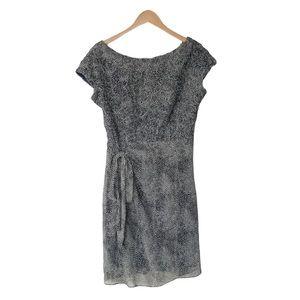 Vintage Sara Campbell Waist Tie Dotted Dress